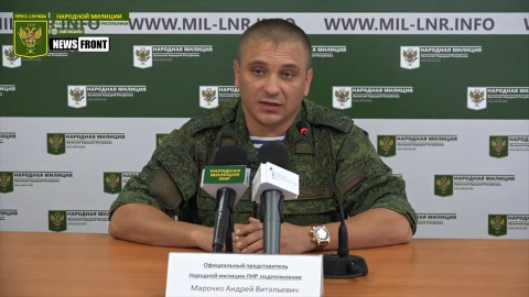 Киевские каратели выпустили по ЛНР 47 мин и гранат — подполковник