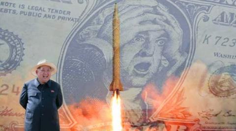 Северокорейская ракета достигла цели: доллар США обрушен