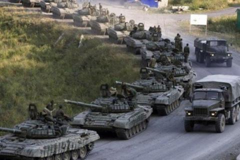 Русские танки уже раскатали …