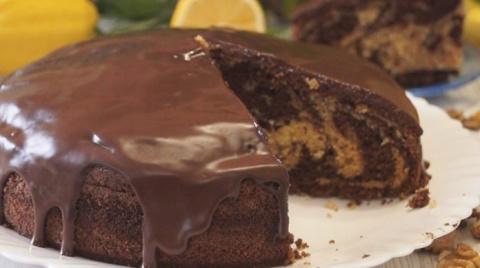 Обалденный пирог «Зебра»