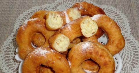 Пончики из советского детств…