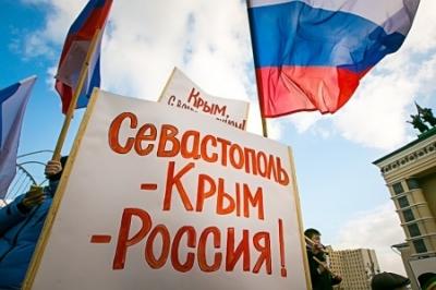 Бандерлоги угрожают Крыму, российские власти молчат. В Бахчисарае избит человек с Георгиевской лентой