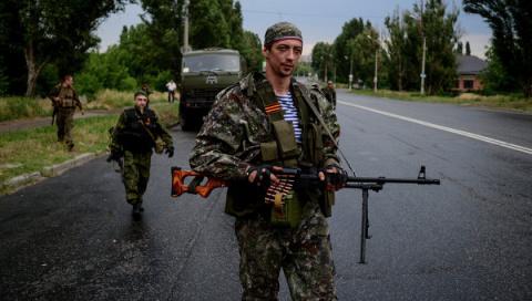 Ополченцы перешли в наступление под Луганском