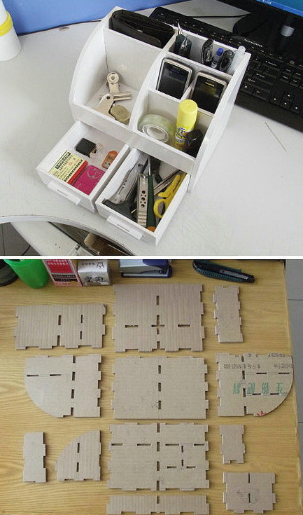 Органайзер из коробки