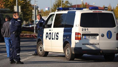 В Финляндии неизвестный напа…