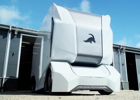 Шведы представили прототип робогрузовика без кабины