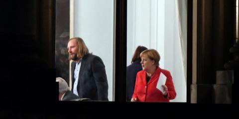 Меркель-прогульщица: немецки…