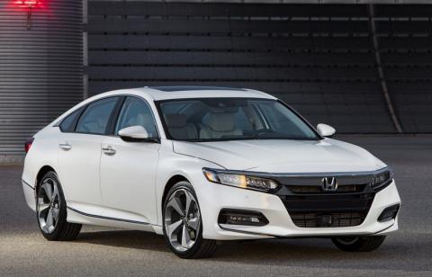 Новый Honda Accord может при…
