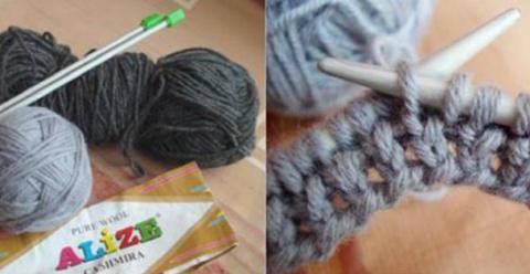 Как связать стильный шарф-тр…