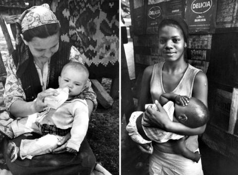 «Матери» — фотографии от 83-летнего Кена Хеймана, сделанные 50-лет назад