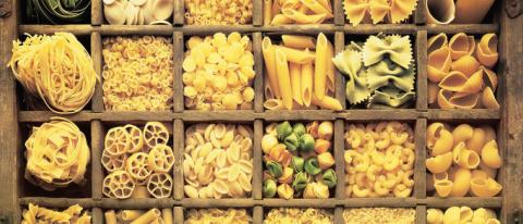 Что готовят из разных видов пасты?