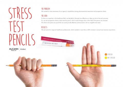 Карандаш измерит уровень стресса