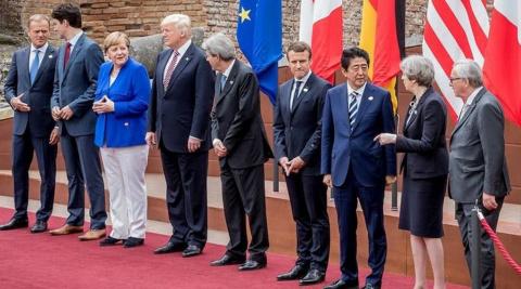 G7 просит Москву поделиться «ключами» для решения кризисов
