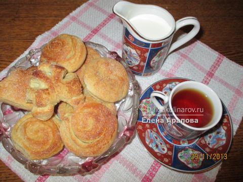 Печенье домашнее на сметане
