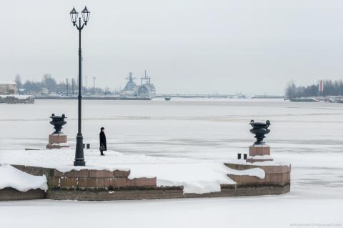 Путешествие по  зимнему Кронштадту: фотозарисовка