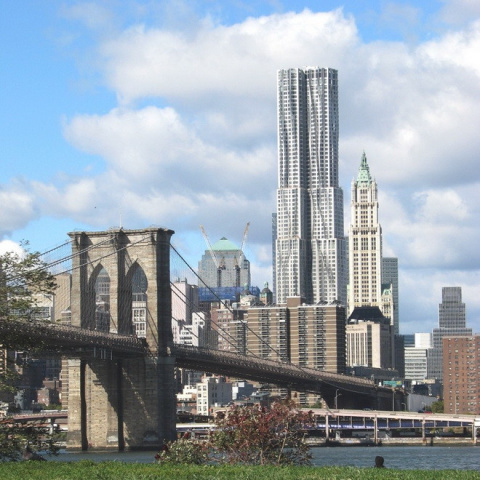 Небоскреб New York by Gehry …
