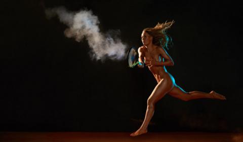 Умопомрачительное фото с датчанкой Каролин Возняцки, раздевшейся для журнала ESPN Body