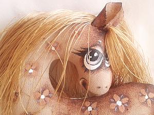 Текстильная лошадка - символ 2014 года