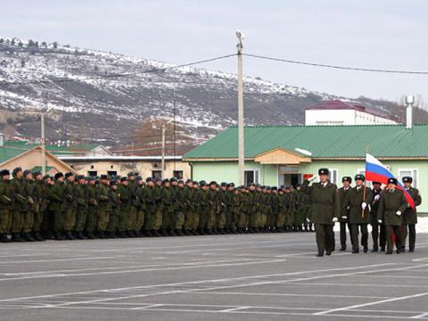 Российские военные в Южной Осетии не нравятся Грузии.