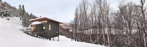 Горное шале в канадском Квебеке
