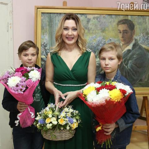 Подросшие внуки Вячеслава Ти…
