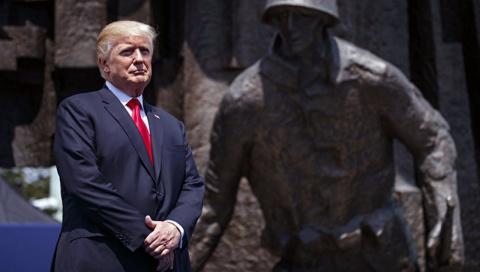 Трамп бросает «своих» сирийцев и поляков. Потому что «своих» нет. Crimson Alter
