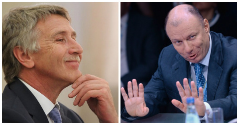 Нынешние российские олигархи…