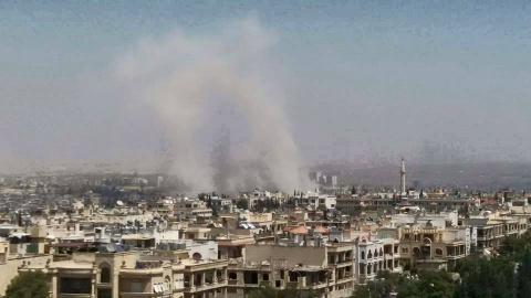Война в Сирии: в Алеппо на военной базе прогремел взрыв