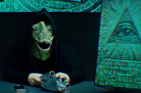 Человечеством управляют инопланетные рептилии