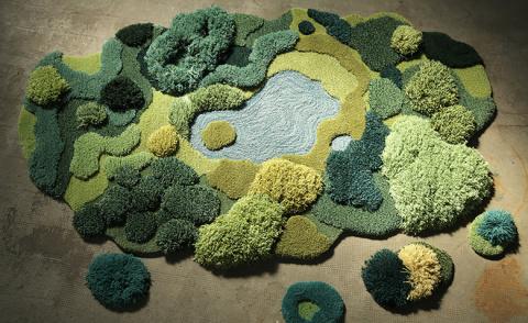 Ландшафтные ковры Александры…