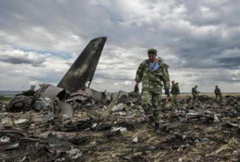 Сбитый под Луганском Ил-76МД преследуют скандалы