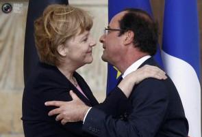 Ангела Меркель и Франсуа Олланд объявили о помолвке