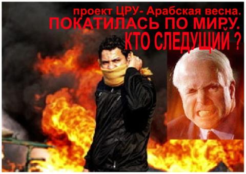 На Украине применили сценарий по типу «арабской весны»