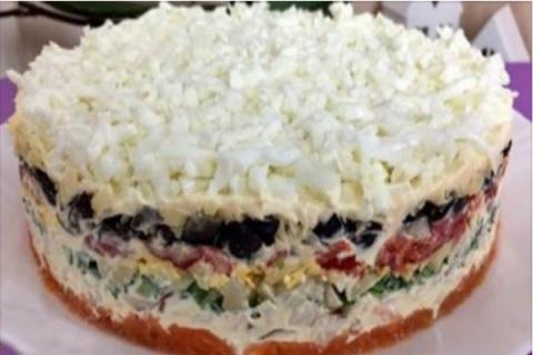 Самый вкусный и сытный салат…