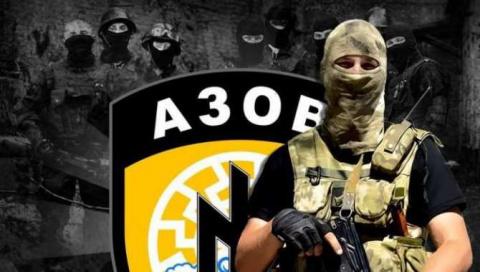 Боевики «Азова» намарше: «у…