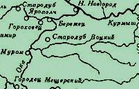 А вот спустя время и карта 15 века нашлась огородах дальных