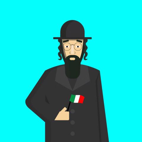 Уморительнейший анекдот про Рабиновича иего поездку вИталию