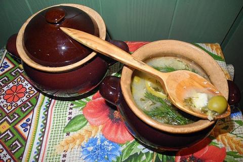 Рецепт послепраздничного суп…