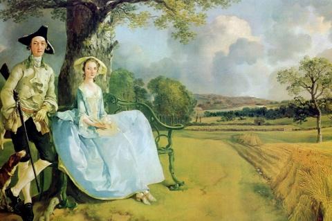 Картина Гейнсборо содержит «…