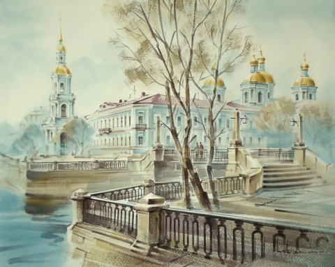 Акварель, КУЗЕМА Константин Станиславович
