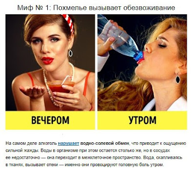 10 мифов об алкоголе, в кото…