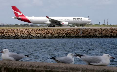 Qantas обновила рекорд по длительности беспосадочного перелета