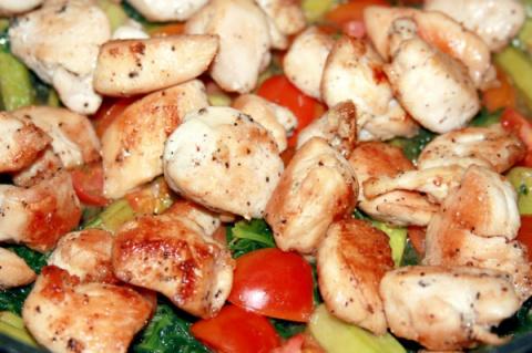 Три быстрых рецепта приготовления курицы