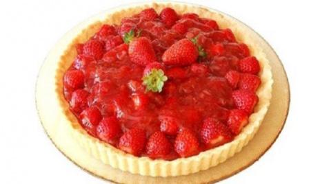 Очень вкусный пирог «Клубнич…