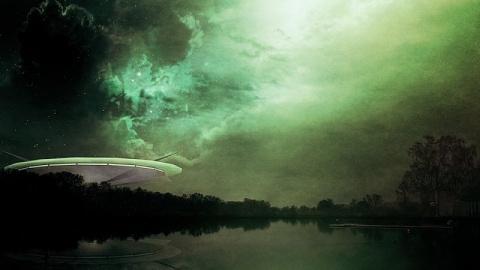 Видео с шарообразным НЛО в К…