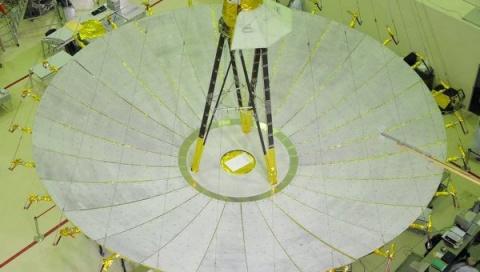 """Российский космический телескоп """"Радиоастрон"""" вошел в книгу Гиннесса"""