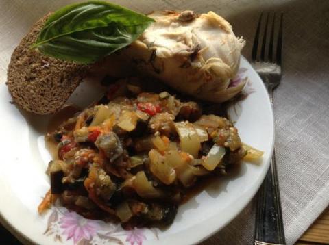 Грузинское овощное рагу