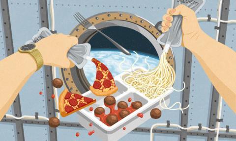 Как прогрессирует еда для ко…