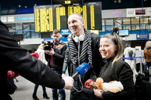 Литовские исполнители столкнулись на Украине с первыми проблемами