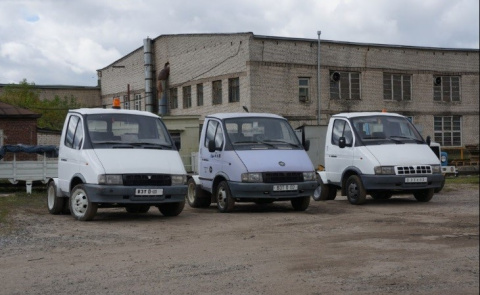 Необычный внутризаводской транспорт Павловского автобусного завода